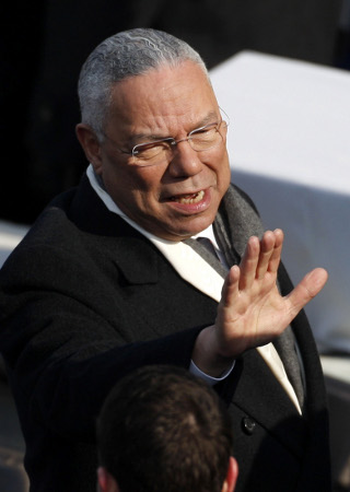 Former Secretary of State Colin Powell. ©REUTERS/Jim Young