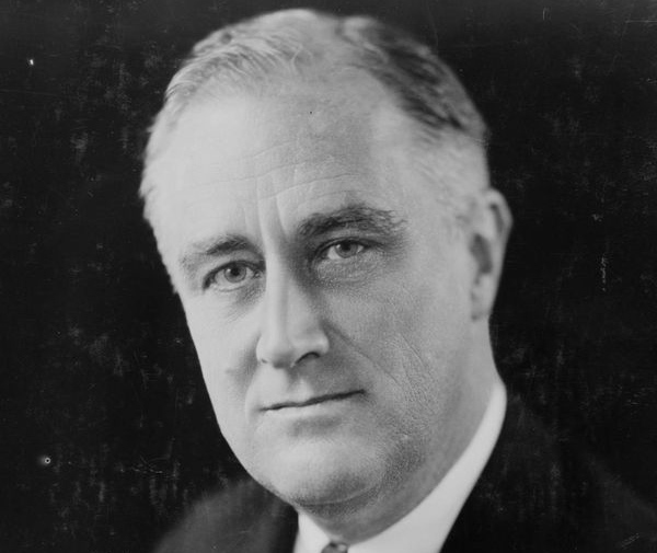 President Franklin D. Roosevelt in an undated photograph courtesy of the Library of Congress. ©REUTERS