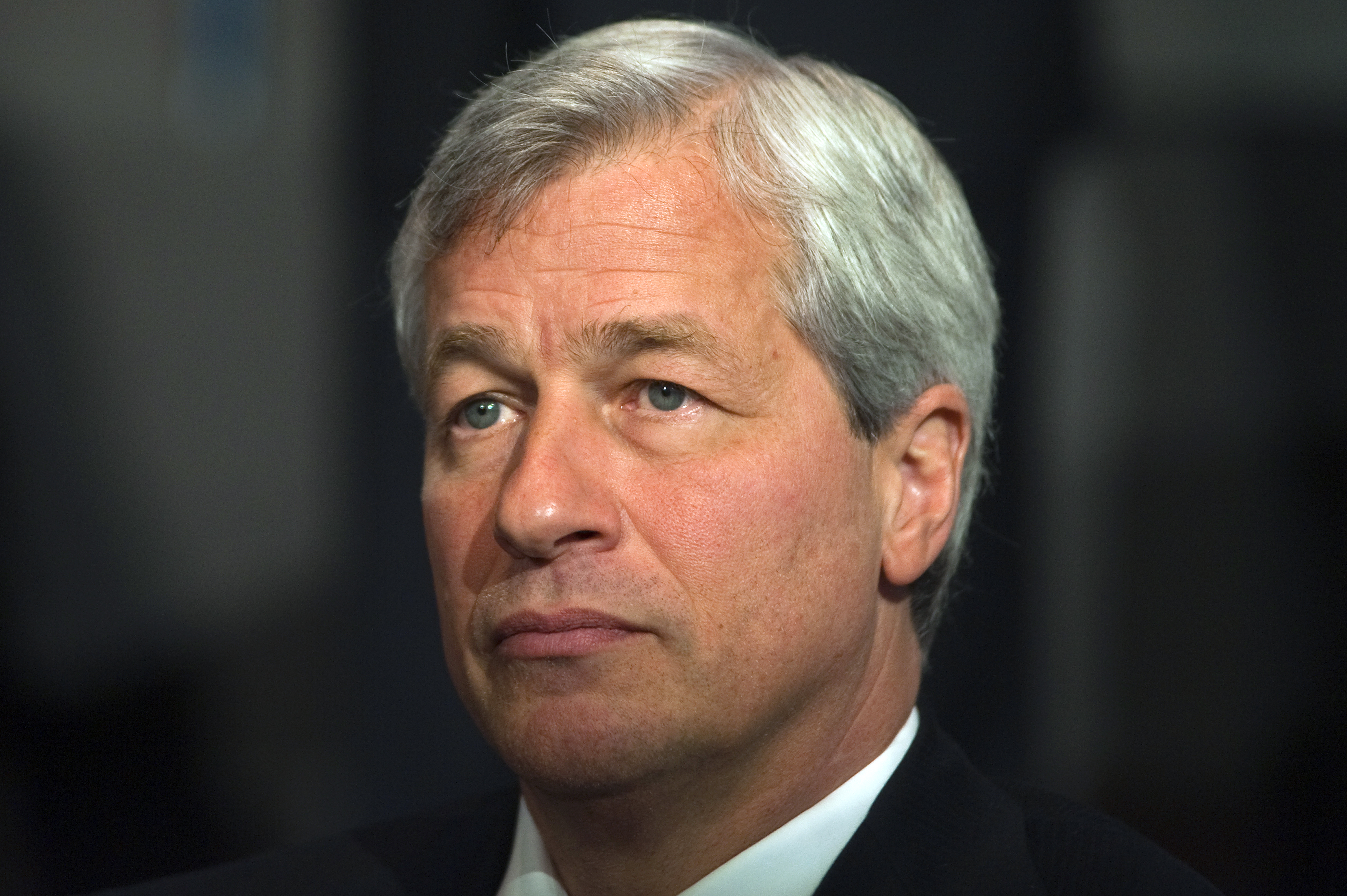 Jamie Dimon, chairman and chief executive of JP Morgan Chase and Co. ©REUTERS/Keith Bedford