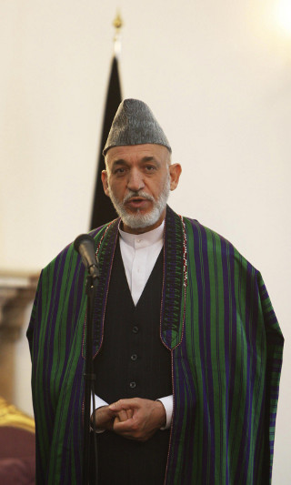 Afghanistan's President Hamid Karzai. ©REUTERS