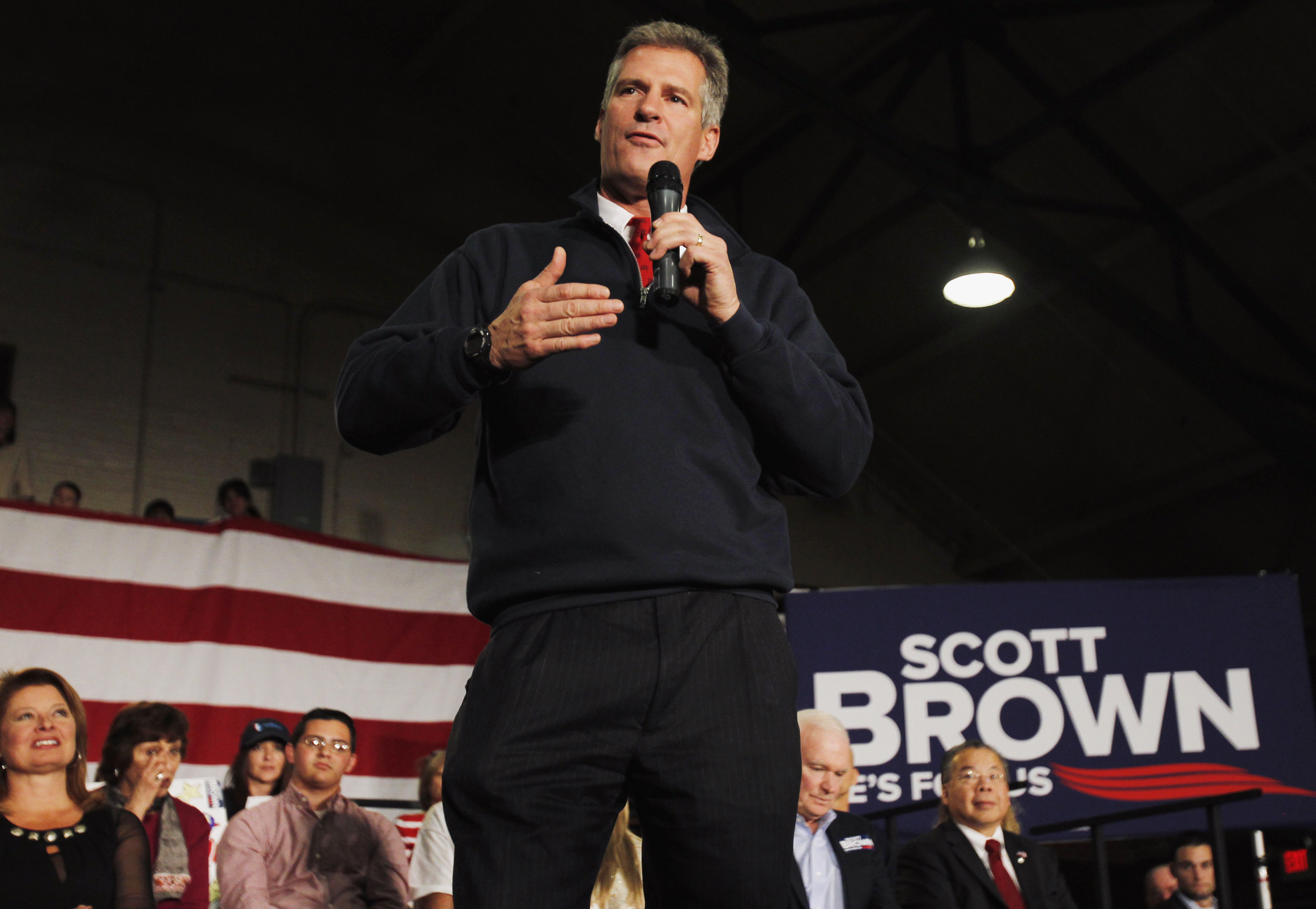 Senator Scott Brown. ©REUTERS