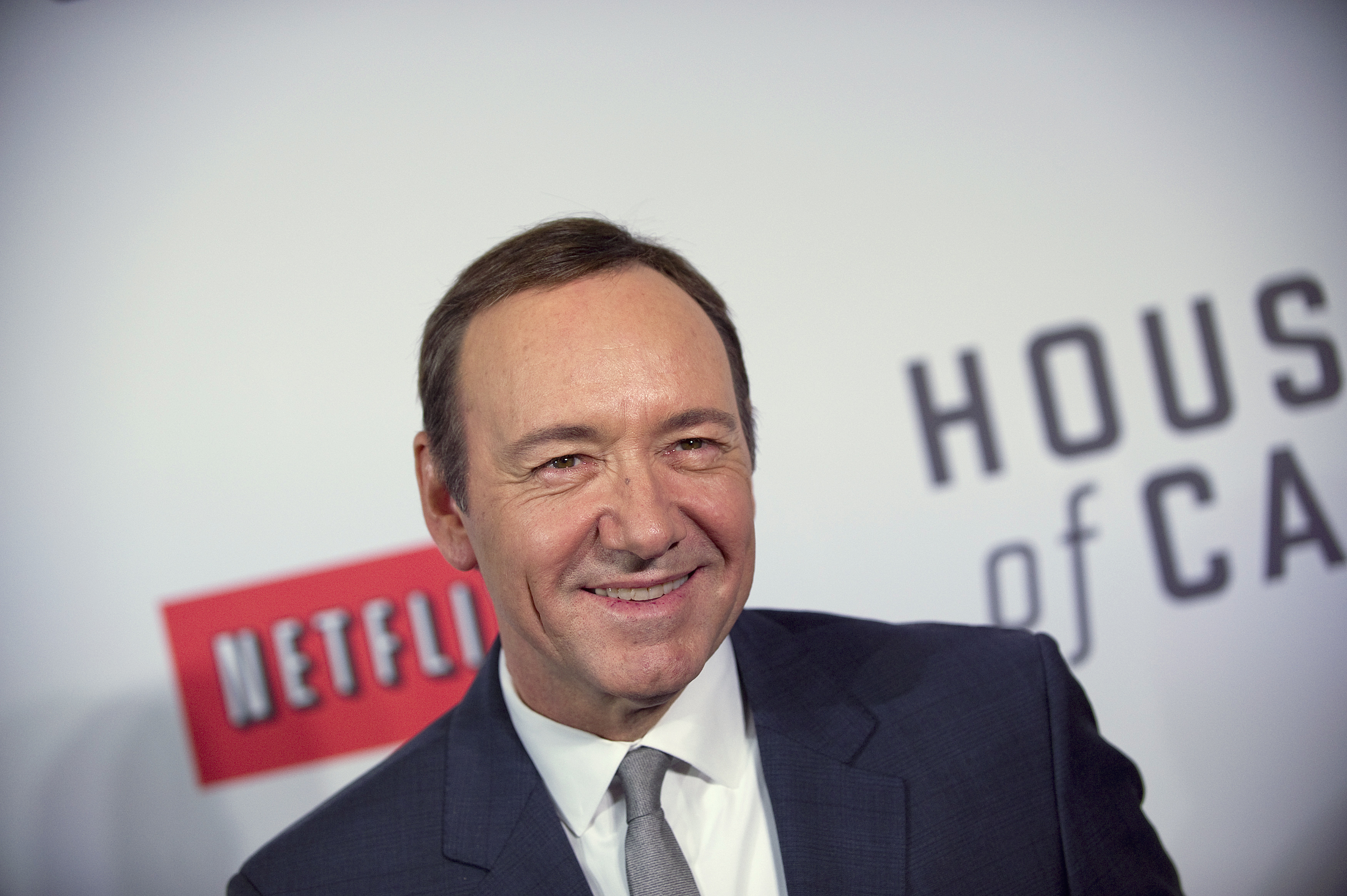 Actor Kevin Spacey arrives at the premiere of Netflix's television series