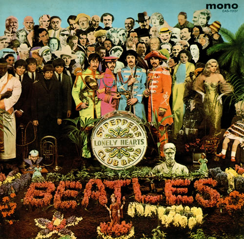 The Beatles: Sgt Pepper's Lonely Hearts Club Band. Photo courtesy of 991.com