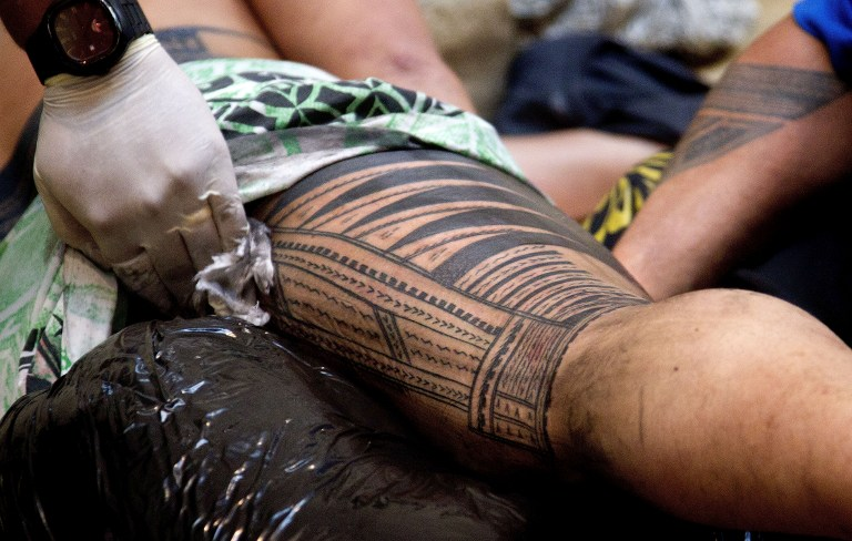 Cook Islands rediscover the lost art of Pacific tattoo