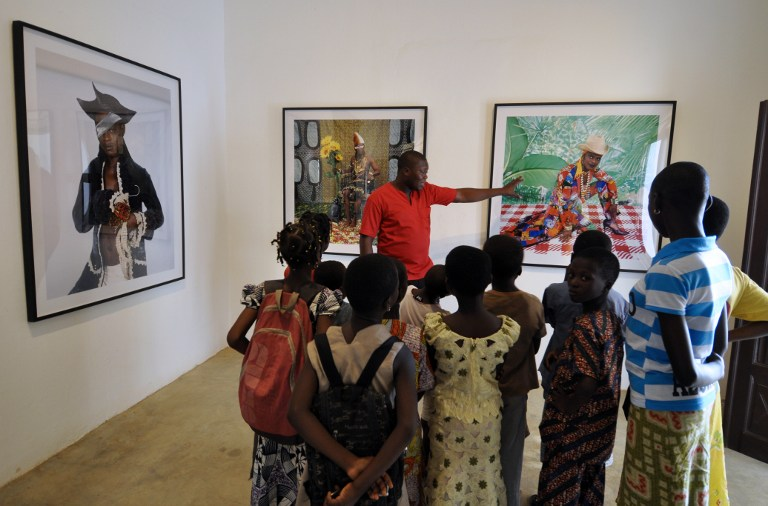 Former slave trade town seeks to become African art hub