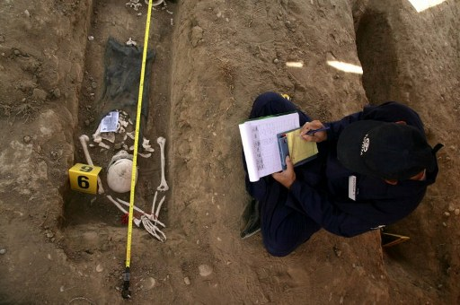Iraq faces painful legacy of mass graves