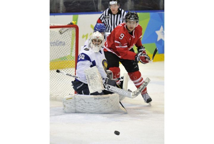 Final match Kazakhstan vs Canada at the Universiade.  Photo courtesy of the Universiade website