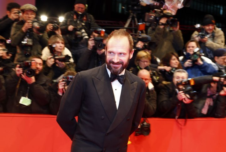 Actor Ralph Fiennes on the red carpet of  the Berlinale. ©Reuters