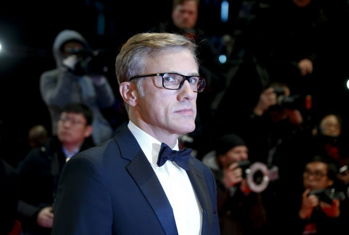 Christoph Waltz on the red carpet of the Berlinale. ©Reuters