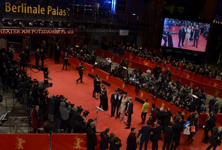 The red carpet of the 64th Berlin Film Festival. ©Reuters