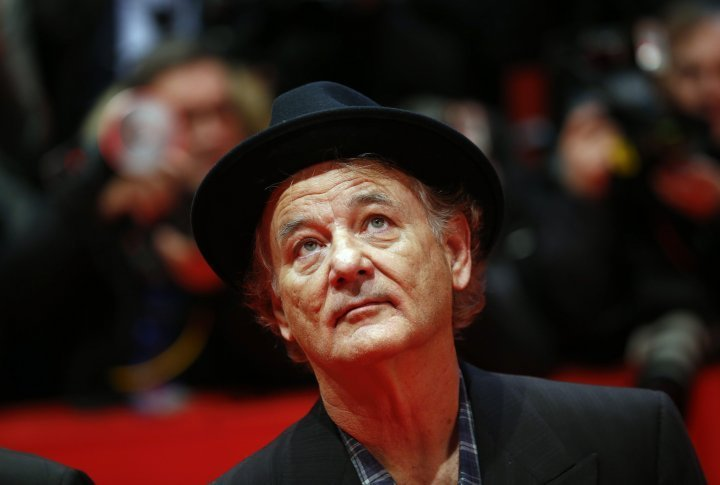 Bill Murray on the red carpet of Berlinale. ©Reuters