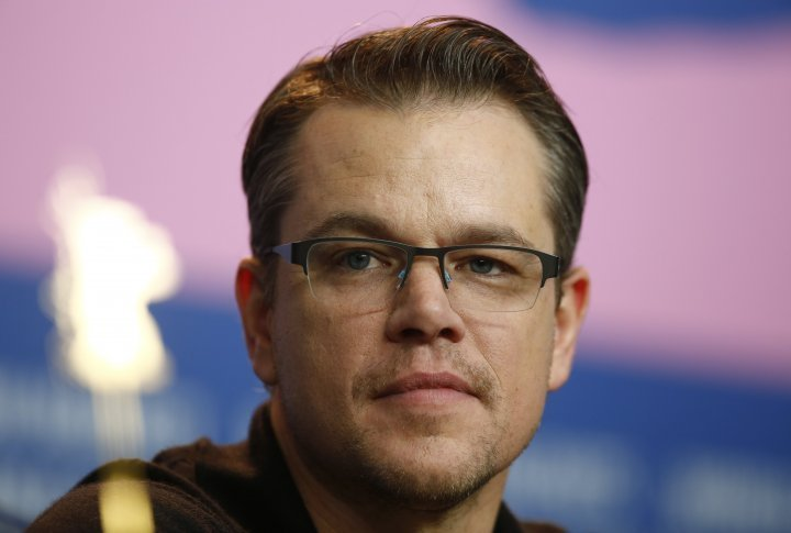 Matt Damon presented <i>The Monuments Men</i> at the Berlinale. ©Reuters