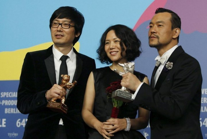 The shooting team of the Chinese film <i>Black Coal, Thin Ice</i>. ©Reuetrs