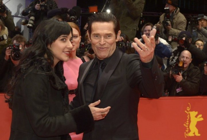 Actro Willem Dafoe on the red carpet of the Berlinale. ©Reuters