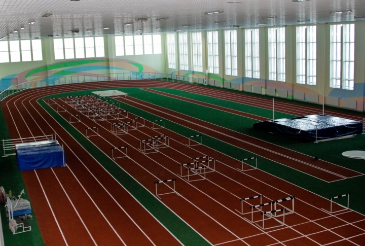 Track-and-field hall of the Pupil's Creativity Palace