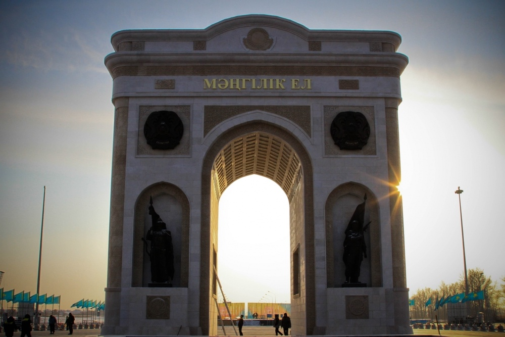The Triumphal Arch of Astana