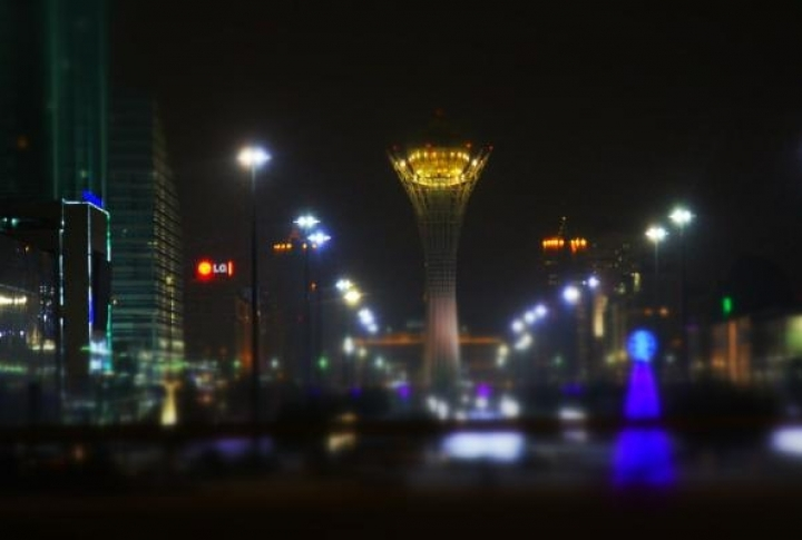 Astana at New Year's Eve. Photo by  Danial Okassov©