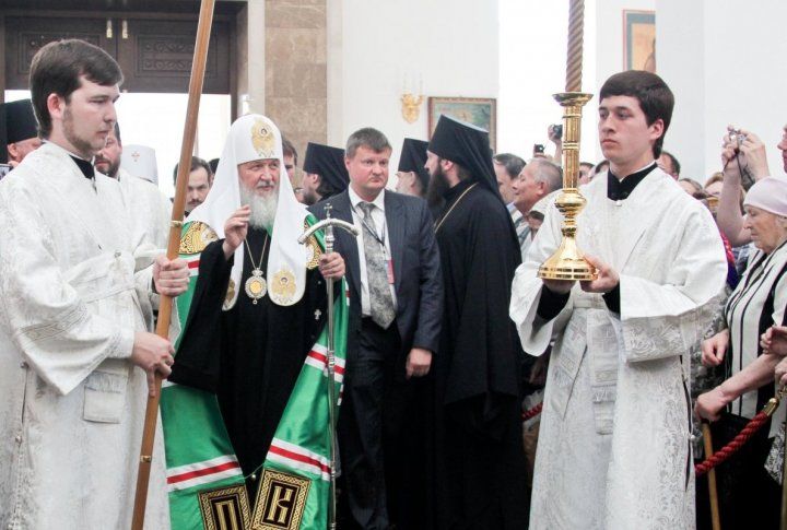 "Patriarch: ""This time I arrived with a special mission to take part in the 4th Congress of World Religions..."