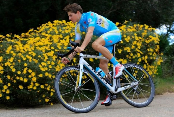 Jacob Fuglsang (Denmark). Photo courtesy of Astana cycling team's Facebook page