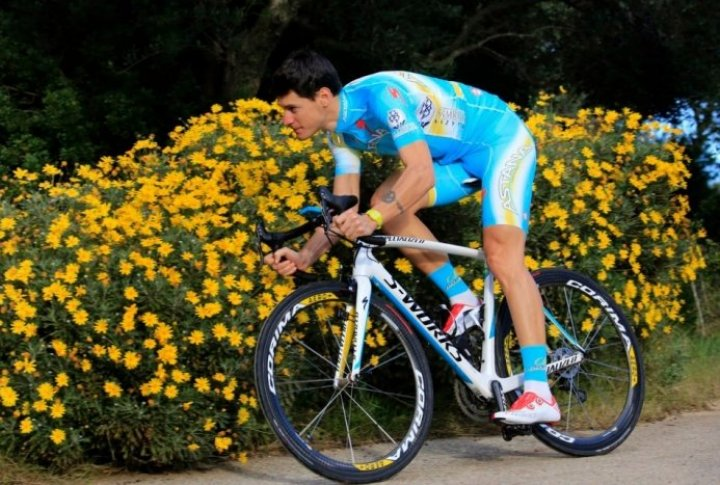 Jacopo Guarnieri (Italy). Photo courtesy of Astana cycling team's Facebook page