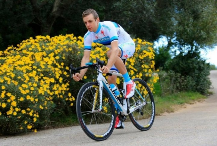 Tanel Kangert (Estonia). Photo courtesy of Astana cycling team's Facebook page