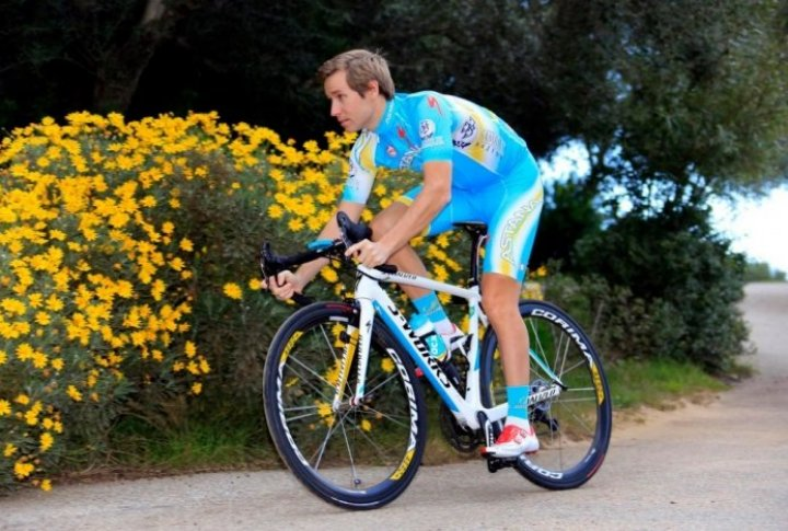 Fredrik Kessiakoff (Sweden). Photo courtesy of Astana cycling team's Facebook page
