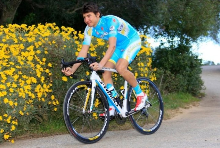 Andrey Zeits (Kazakhstan). Photo courtesy of Astana cycling team's Facebook page