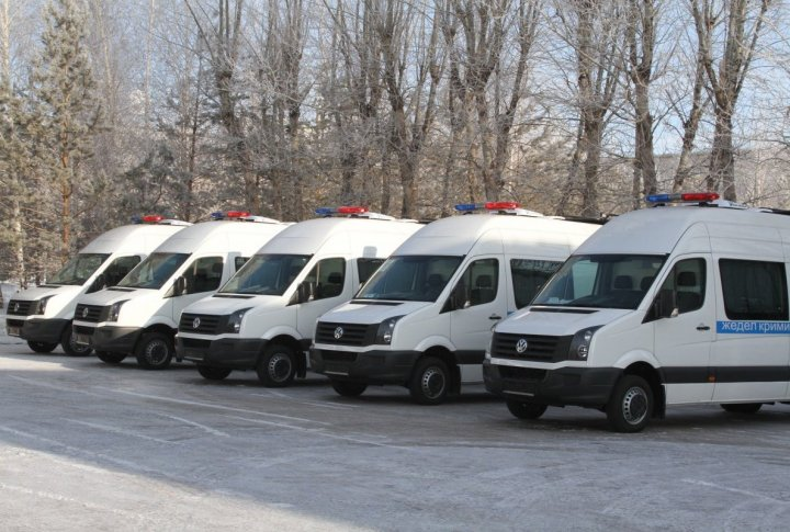 Mobile criminal laboratories. ©Tengrinews.kz