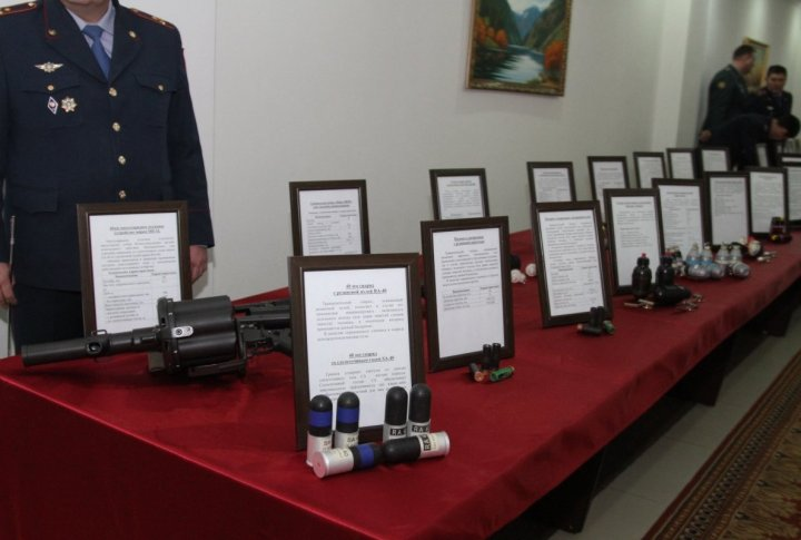 Armament of Kazakhstan Interior Ministry. ©Tengrinews.kz