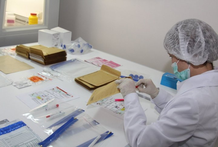 Working process in genomic laboratory. ©Tengrinews.kz