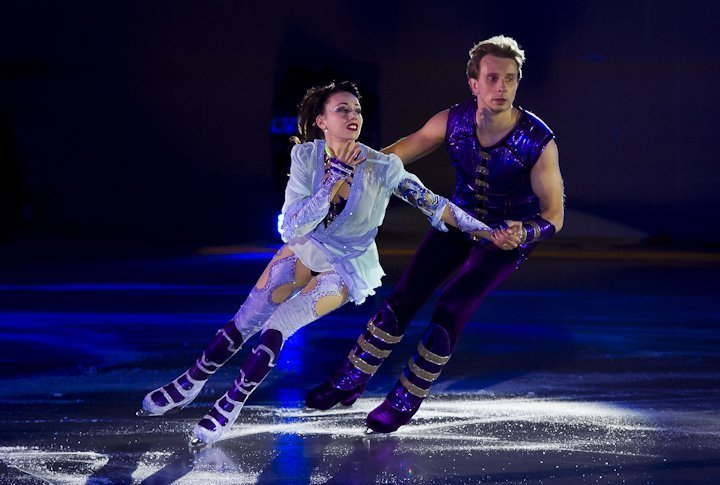 A duo of Fiona Zaldua and Dmitry Sukhanov from Great Britain. Photo by Vladimir Dmitriyev©
