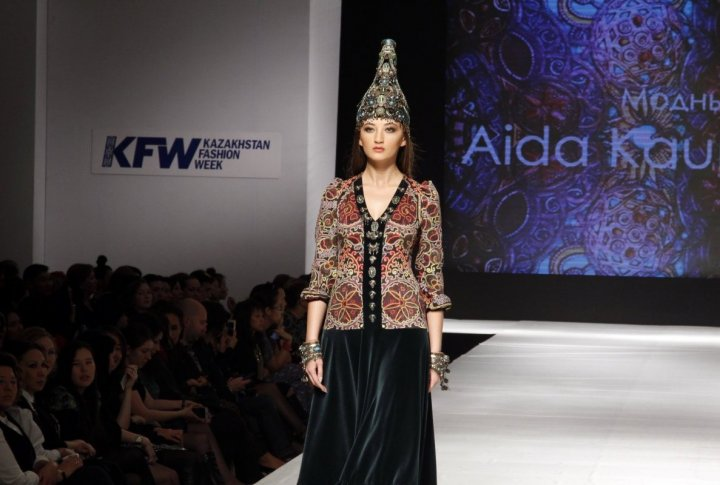 The collection of Aida KaumeNOVA. ©Aizhan Tugelbayeva