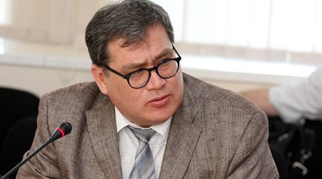 Political expert Murat Laumulin. Photo by Yaroslav Radlovskiy©