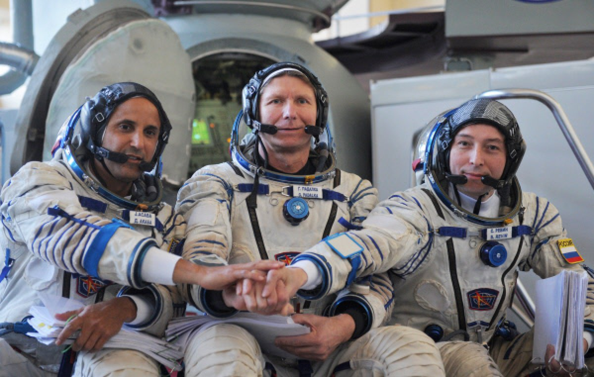 iss astronauts land - photo #3