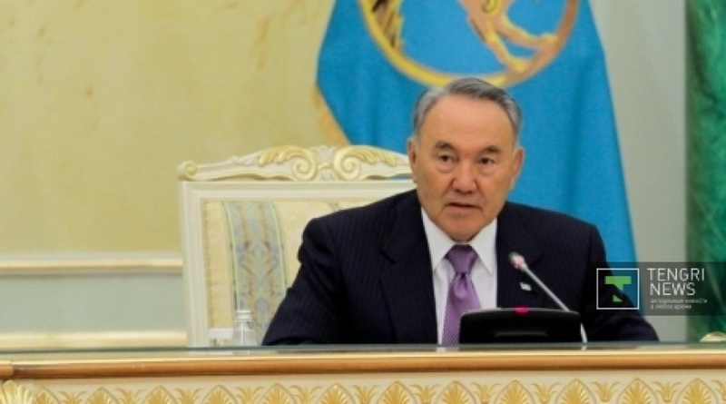 Nursultan Nazarbayev. Photo by  Danial Okassov©