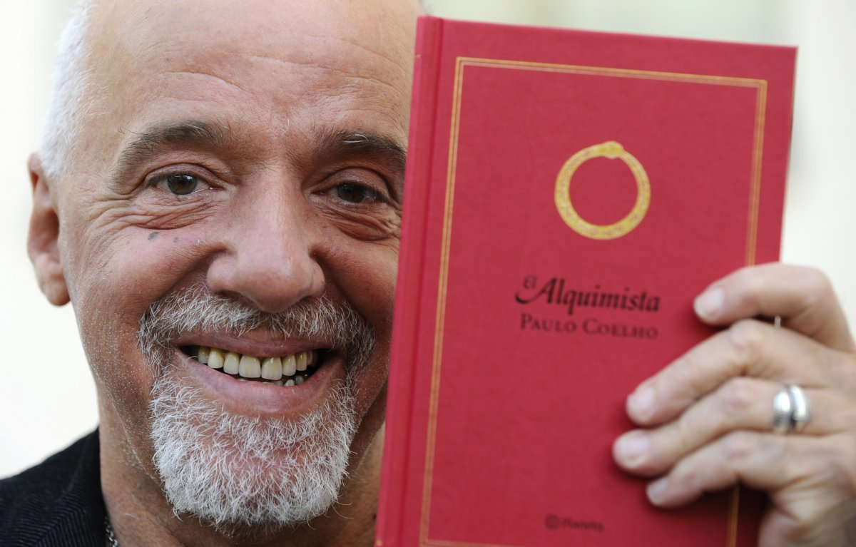 alchemist author plays reality in new book art books   ian writer paulo coelho ©reuters eloy alonso