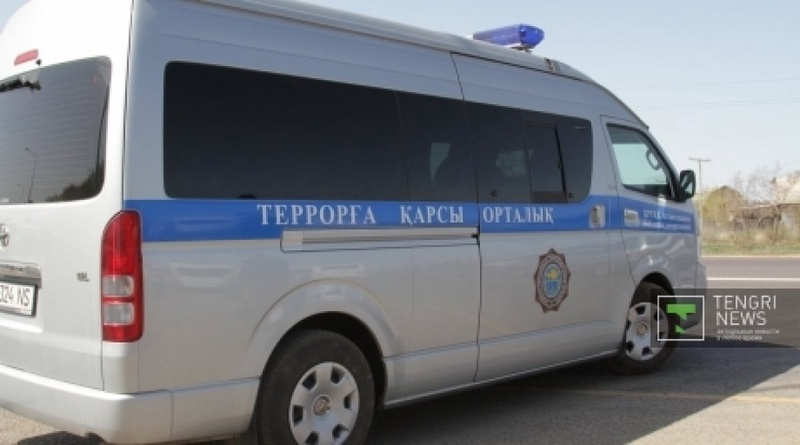 Special vehicle of anti-terrorist center. Photo by Danial Okassov©