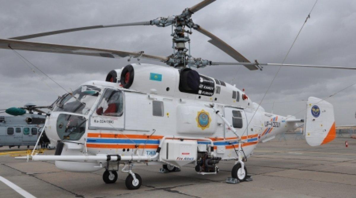 Elicottero Ka 32 : Kazakhstan emergency ministry saw new russian ka