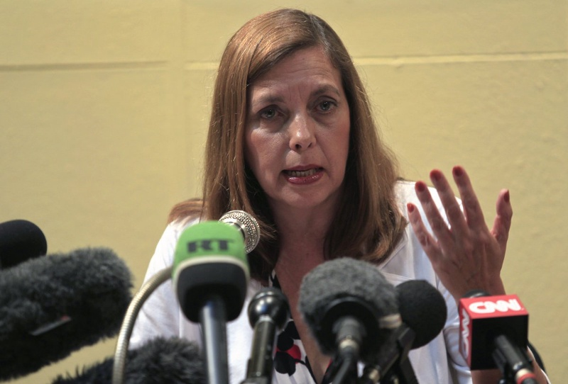 Josefina Vidal, Cuba's director of U.S. Affairs at the Ministry of Foreign Affairs. ©REUTERS