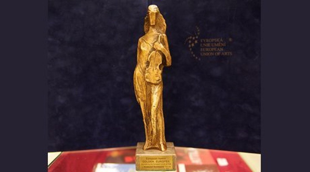 Nurzhamal Usenbayeva from Kazakhstan receives Golden Europea