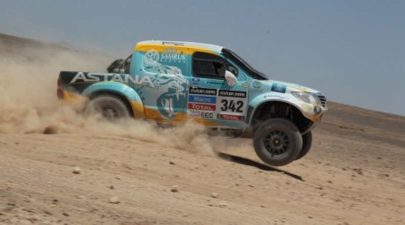 Photo courtesy of the press-service of the Astana Motorsports
