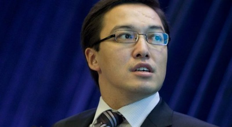 Kazakh Central Bank governor Daniyar Akishev ©Bloomberg.com