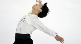 Denis Ten, figure skater from Kazakhstan. ©RIA Novosti