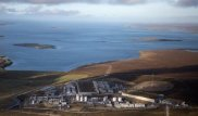 Shetland Gas Plant. Photo courtesy of Total.uk