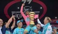 Nibali wins dramatic 99th Giro d'Italia for Kazakhstan