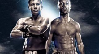 Gennady Golovkin and Kell Brook. Photo courtesy of Gennadiy GGG Golovkin group VKontakte