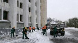 Almaty authorities react to blames on snow removal