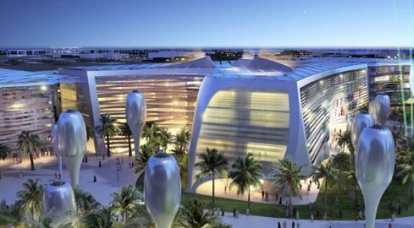 design of Masdar, city if the future  © eco-turizm.net