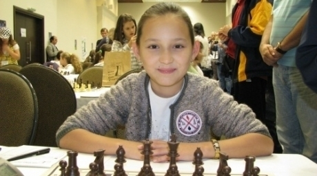 Kazakhstan chess-player Zhansaya Abdumalik. ©Tengrinews