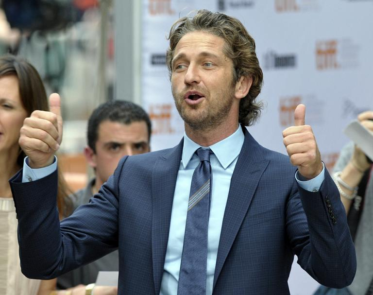 Gerard Butler. ©REUTERS/Mike Cassese